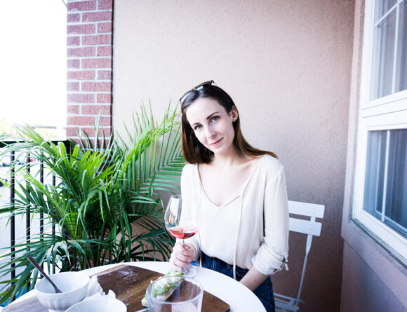 rebecca goddard rose on patio rgdaily blog