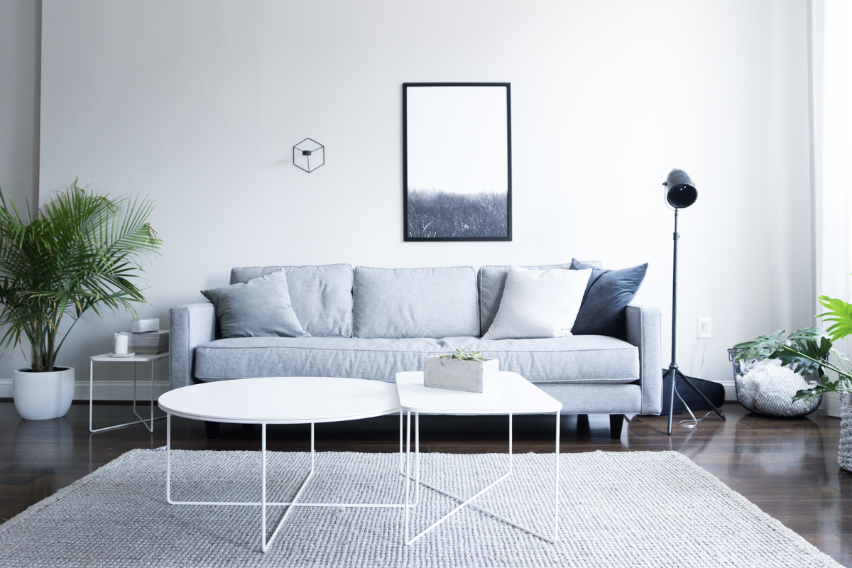Living Room Without Sofa Minimalistic
