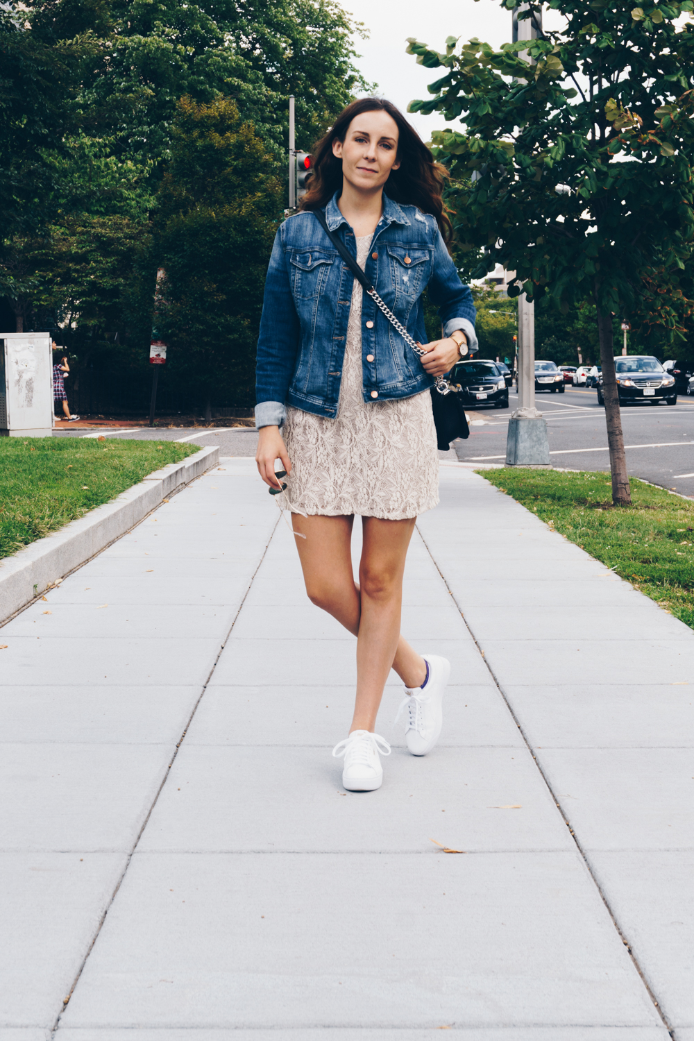denim jacket fall fashion outfit rgdaily blog