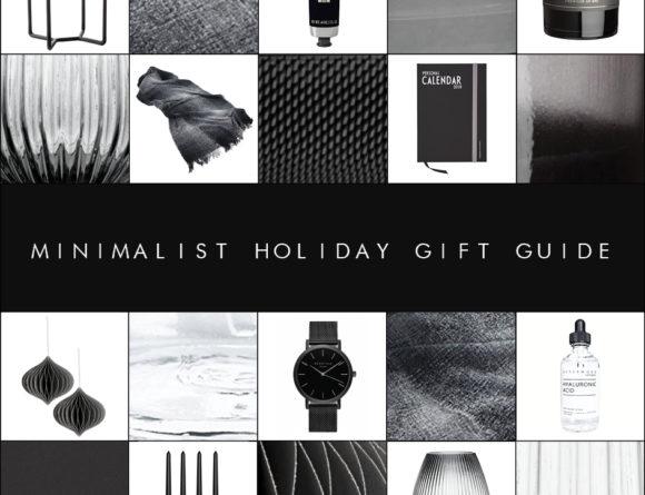 minimalist holiday gift guide christmas 2017 rebecca goddard rgdailyai blog
