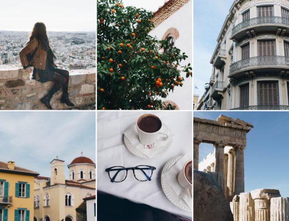athens greece travel journal
