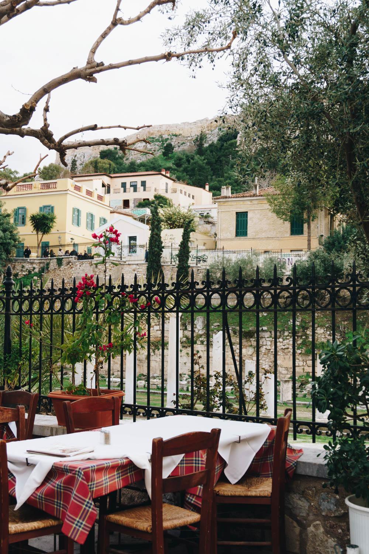 athens greece travel guide plaka cafe rgdaily blog rebecca goddard