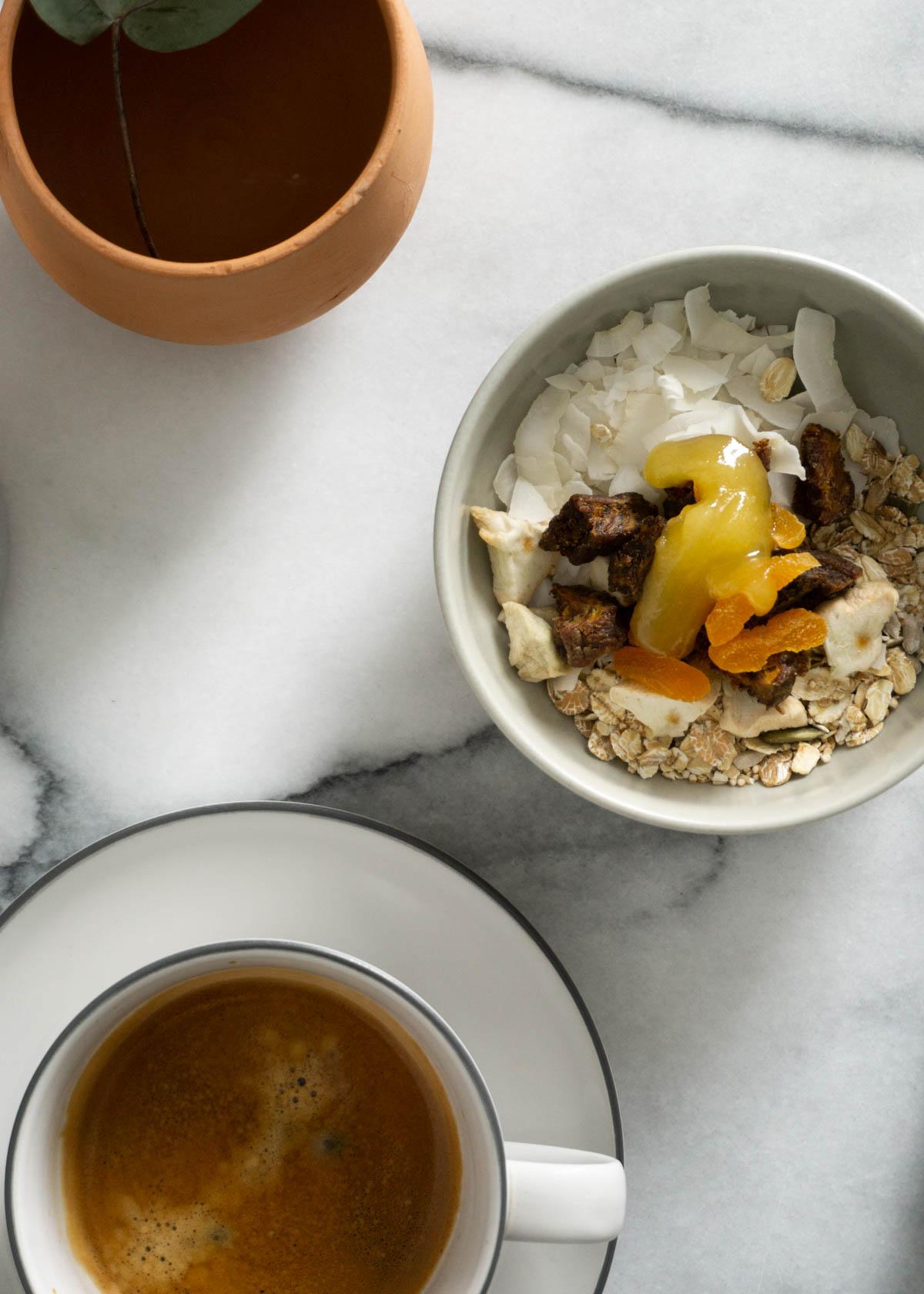 Breakfast Table, Scandinavian Home ~ Coffee, Terracotta & Marble | RG Daily Blog