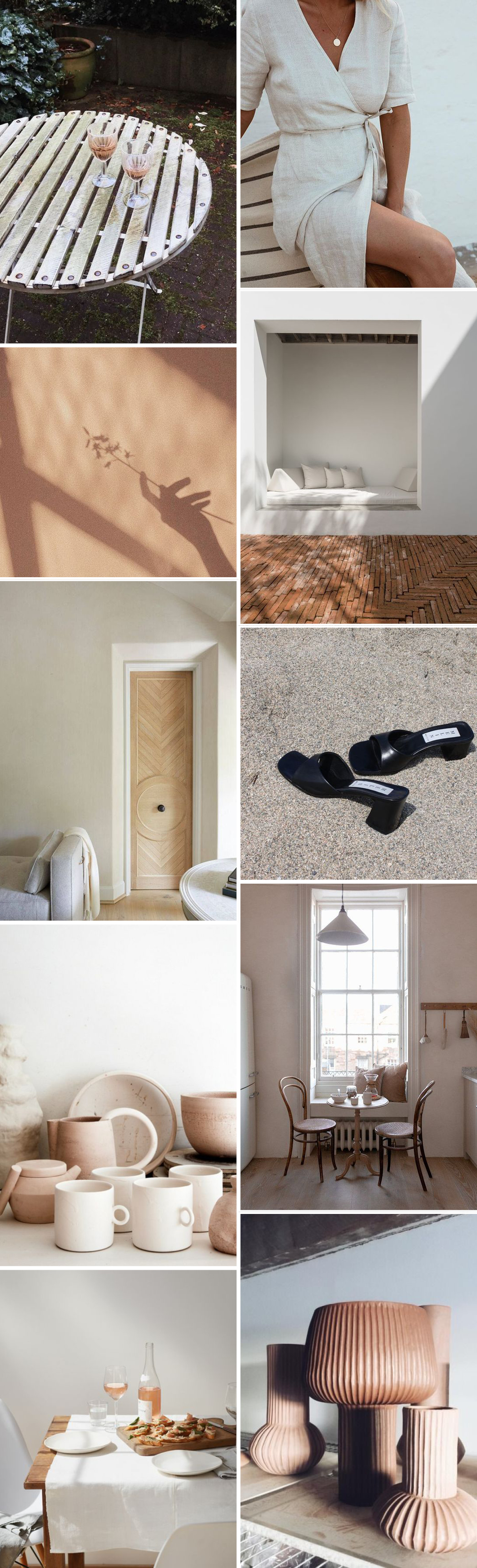 Beige and Terracotta Mood Board - Spring Inspiration from Pinterest / RG Daily Blog