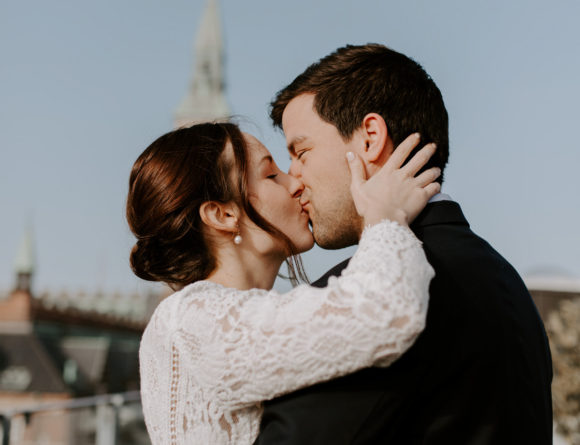 Our Dreamy Copenhagen Elopement ~ City Hall Wedding Photographer, Elva Ziemele / Lace Ivy and Oak Wedding Dress, Denmark, Hotel Danmark / RG Daily Blog, Rebecca Goddard