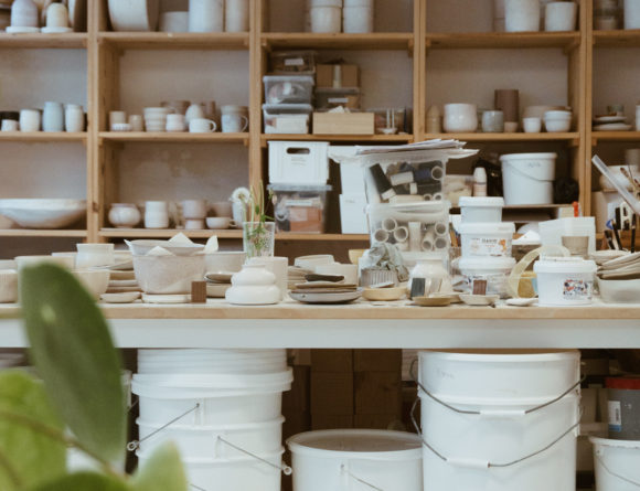 Robynn Storgaard - Danish Ceramics Studio Copenhagen - Minimalist Style / RG Daily Blog