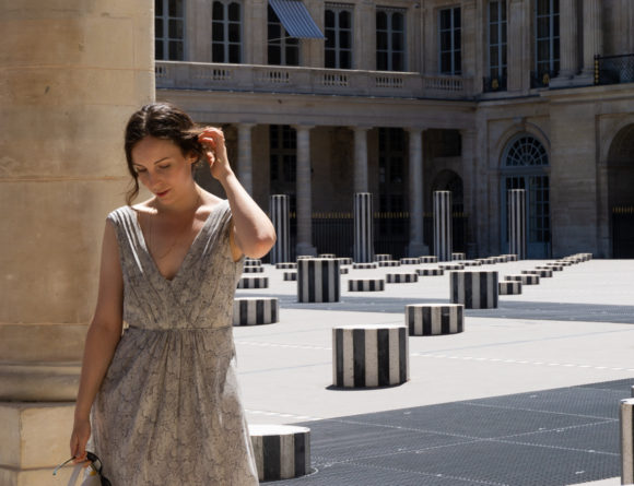 PARIS TRAVELS - Palais Royal | Vintage Summer Style - Rebecca Goddard