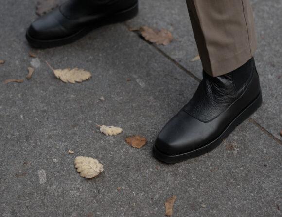 Flattered, Winter Boots, Ursula Black Leather