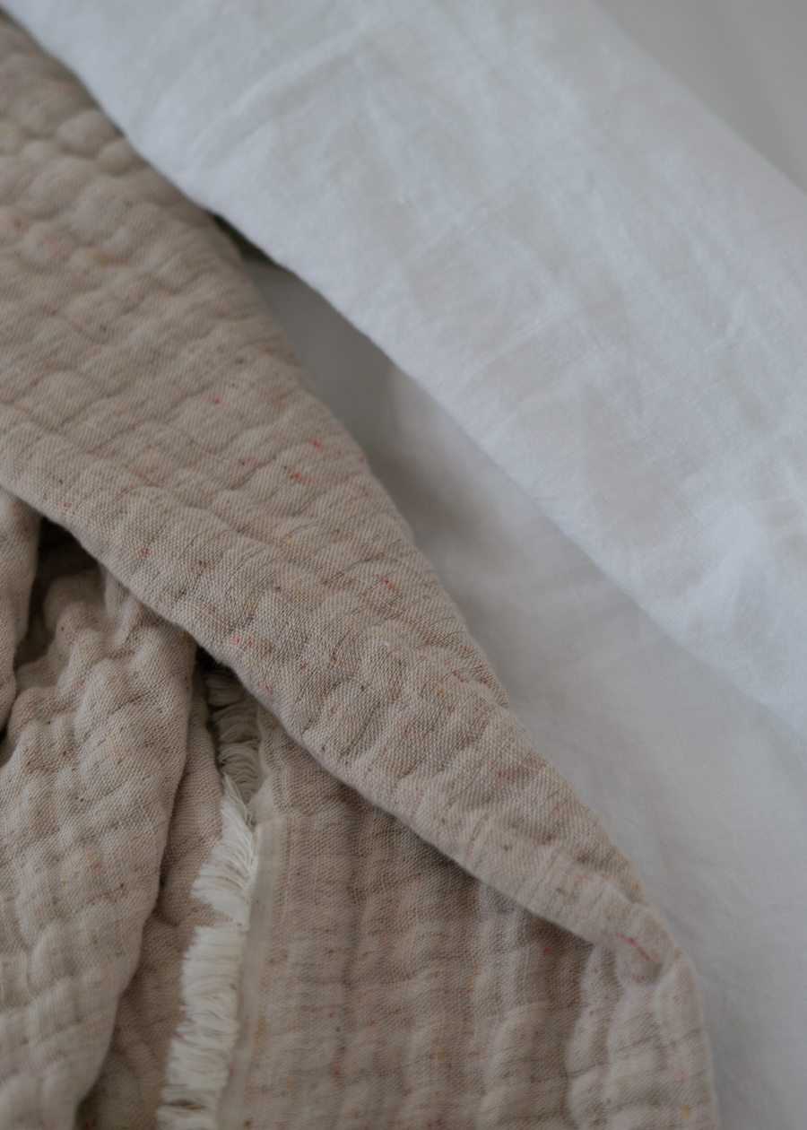 URBANARA Beige Home Textiles