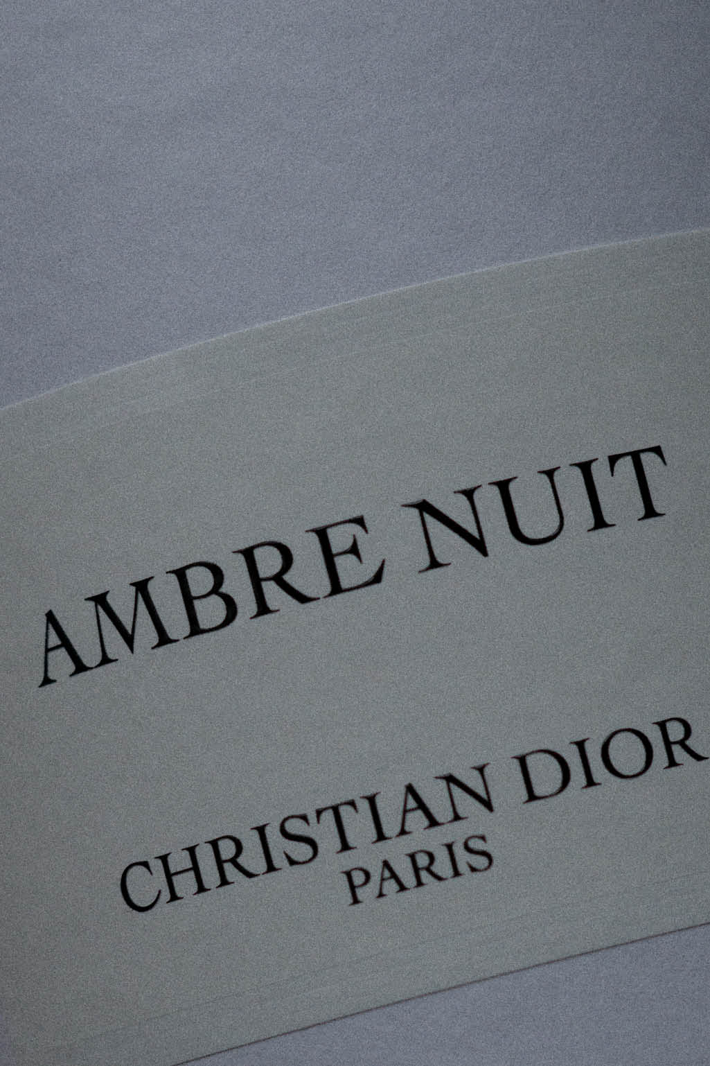 Maison Christian Dior, Ambre Nuit