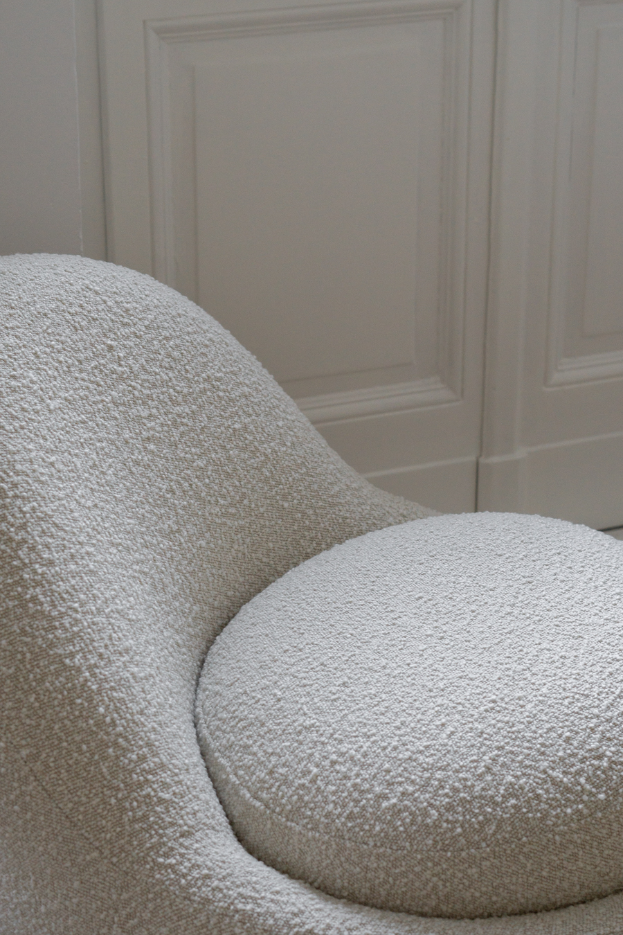SOFACOMPANY, Maya Cream Boucle, Beige Interior Aesthetic