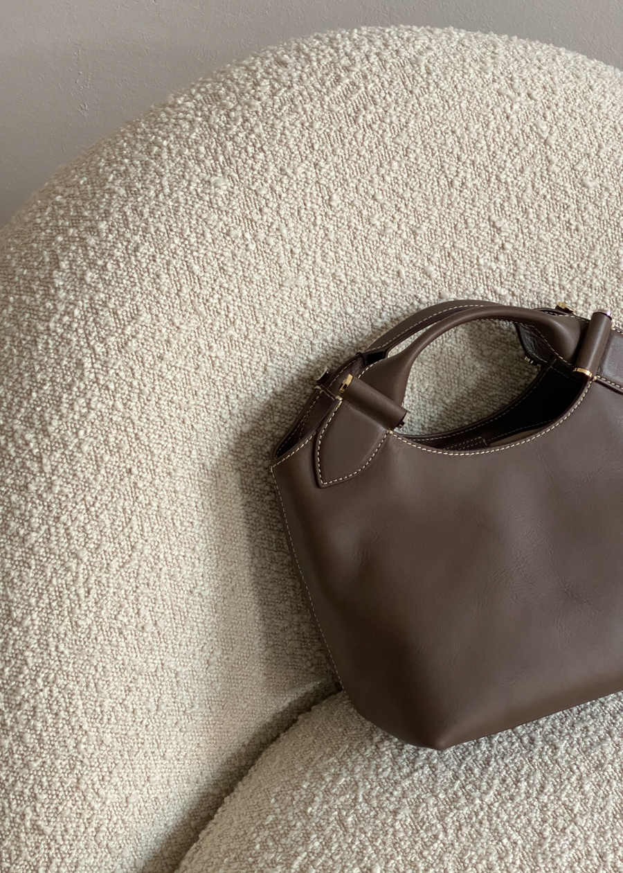 Decadent Copenhagen Minna Brown Leather Tote Bag | Fashion | RG Daily Blog