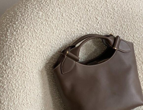 Decadent Copenhagen Minna Brown Leather Tote Bage | Fashion | RG Daily Blog