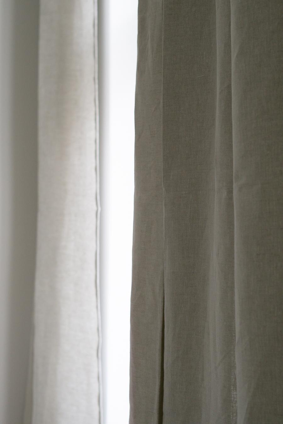 Linen Curtains Urbanara Zelva